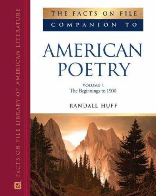 Companion to American Poetry (ebook)